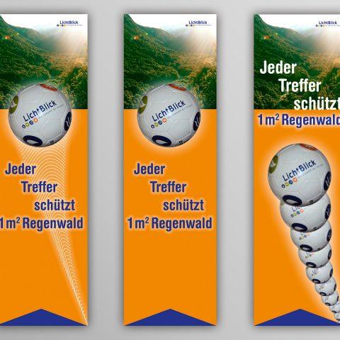 Regenwald-Banner