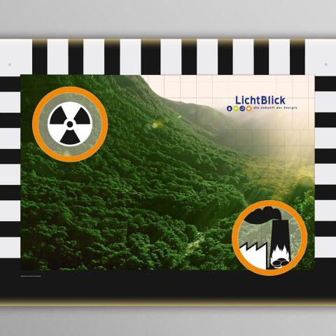 Regenwald-Torwand